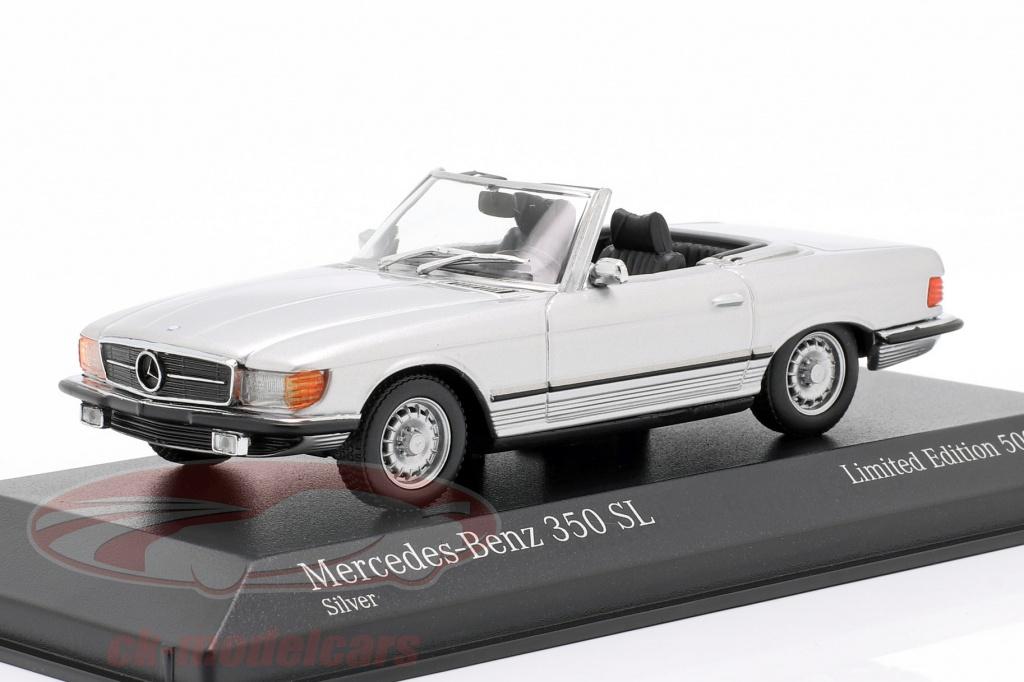 minichamps-1-43-mercedes-benz-350-sl-bouwjaar-1974-zilver-metalen-943033433/