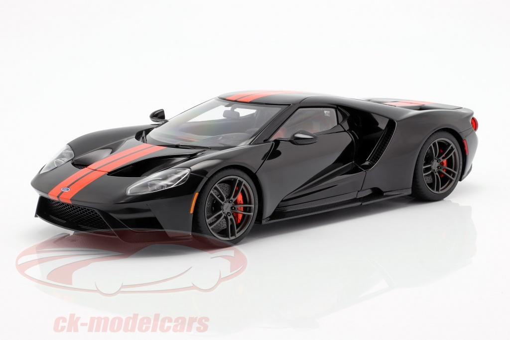 autoart-1-18-ford-gt-bouwjaar-2017-zwart-oranje-72945/