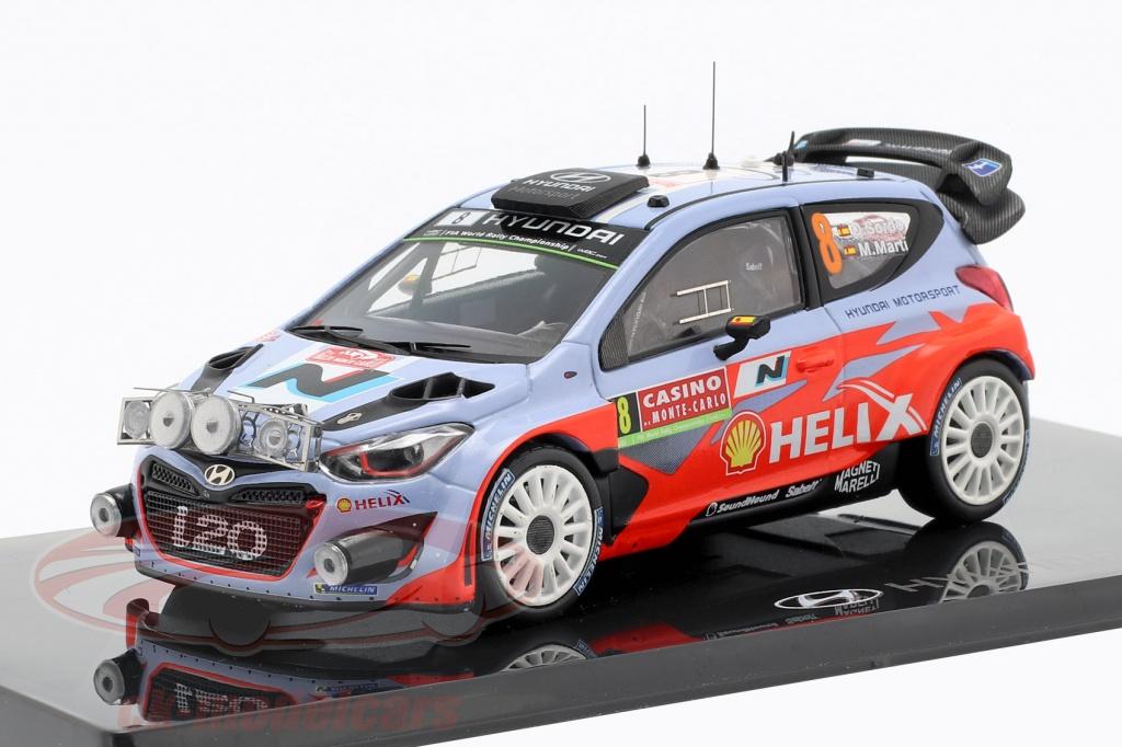 ixo-1-43-hyundai-i20-wrc-no8-rallye-monte-carlo-2014-sordo-marti-8809430770017/