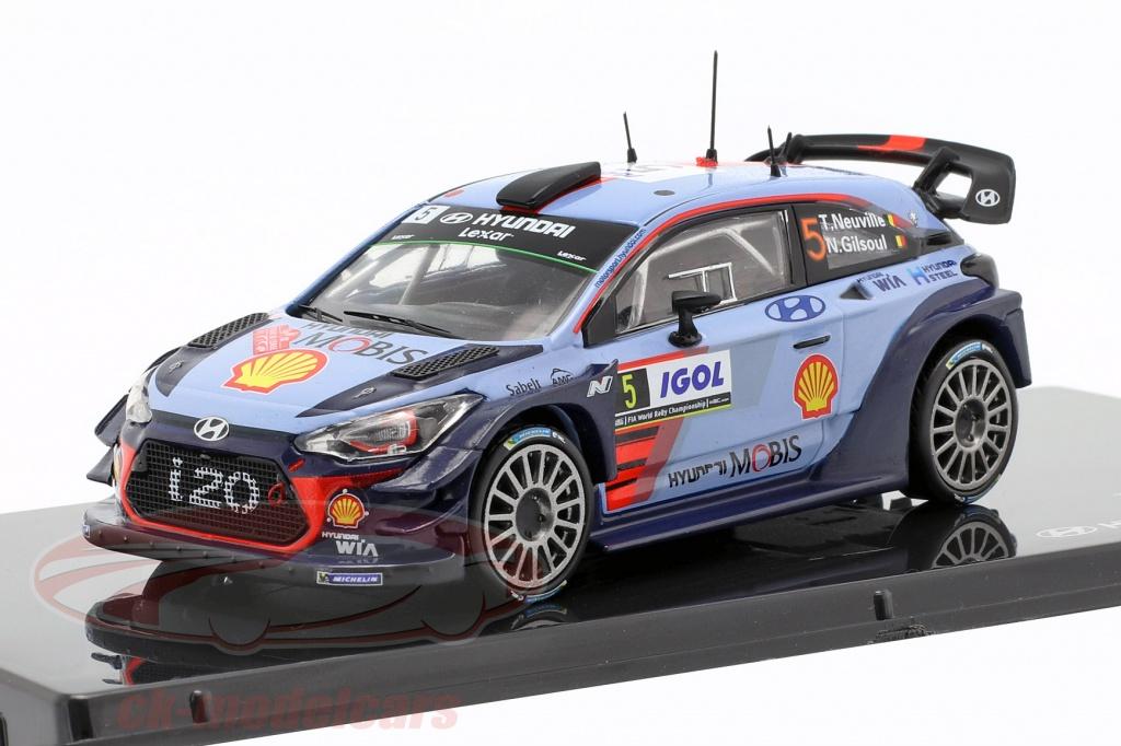 ixo-1-43-hyundai-i20-coupe-wrc-no5-winner-rallye-tour-de-corse-2017-neuville-gilsoul-8809430771380/