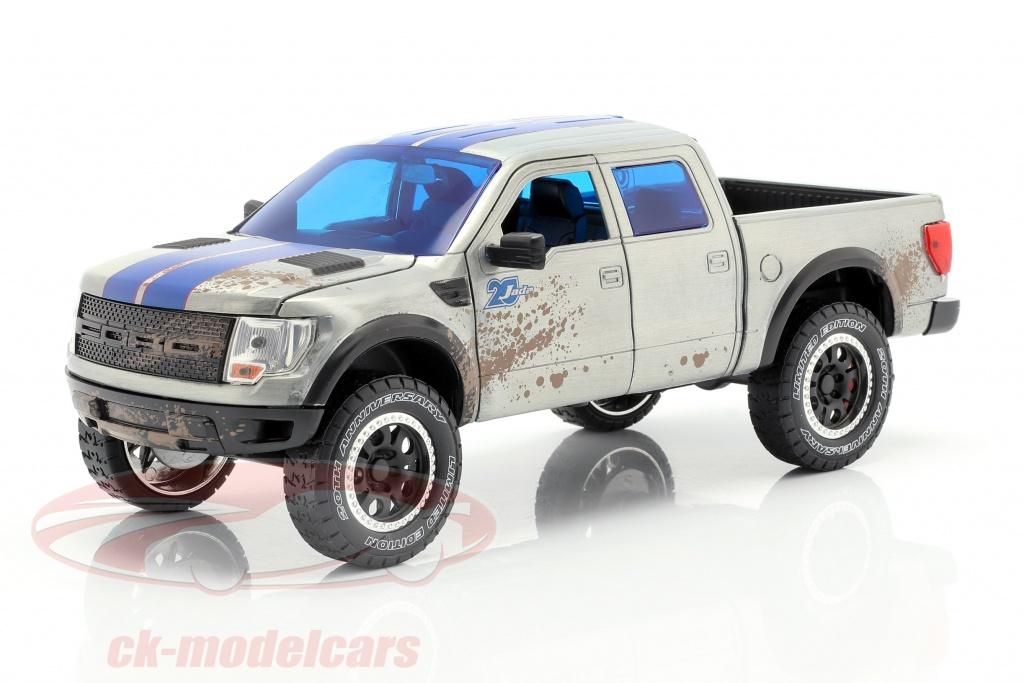 jadatoys-1-24-ford-f-150-svt-raptor-construdo-em-2011-silvergrey-blue-253745014/