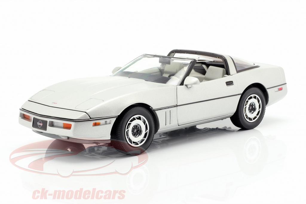 greenlight-1-18-chevrolet-corvette-c4-bouwjaar-1984-zilver-metalen-13534/