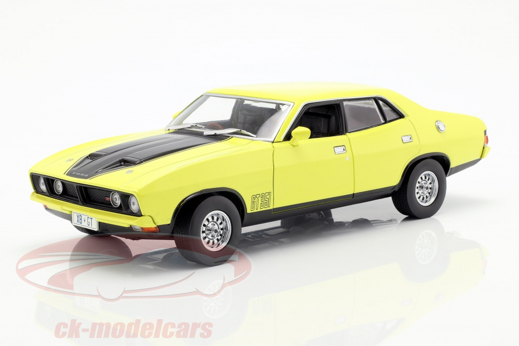greenlight-1-18-ford-falcon-xb-gt351-annee-de-construction-1974-jaune-18013-dda013/
