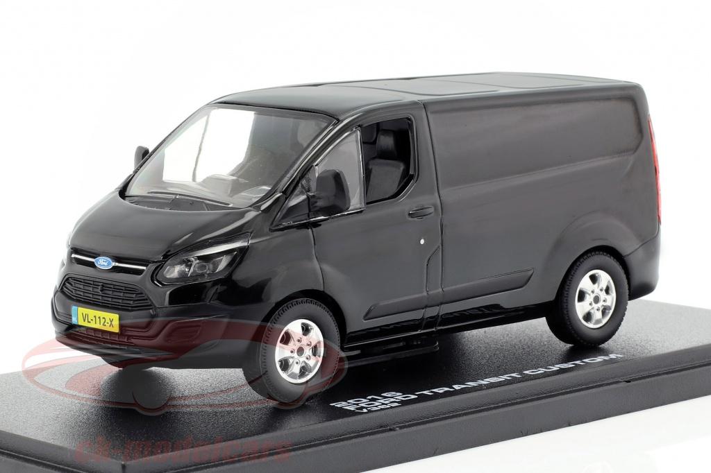 greenlight-1-43-ford-transit-custom-v362-bouwjaar-2016-zwart-51095/
