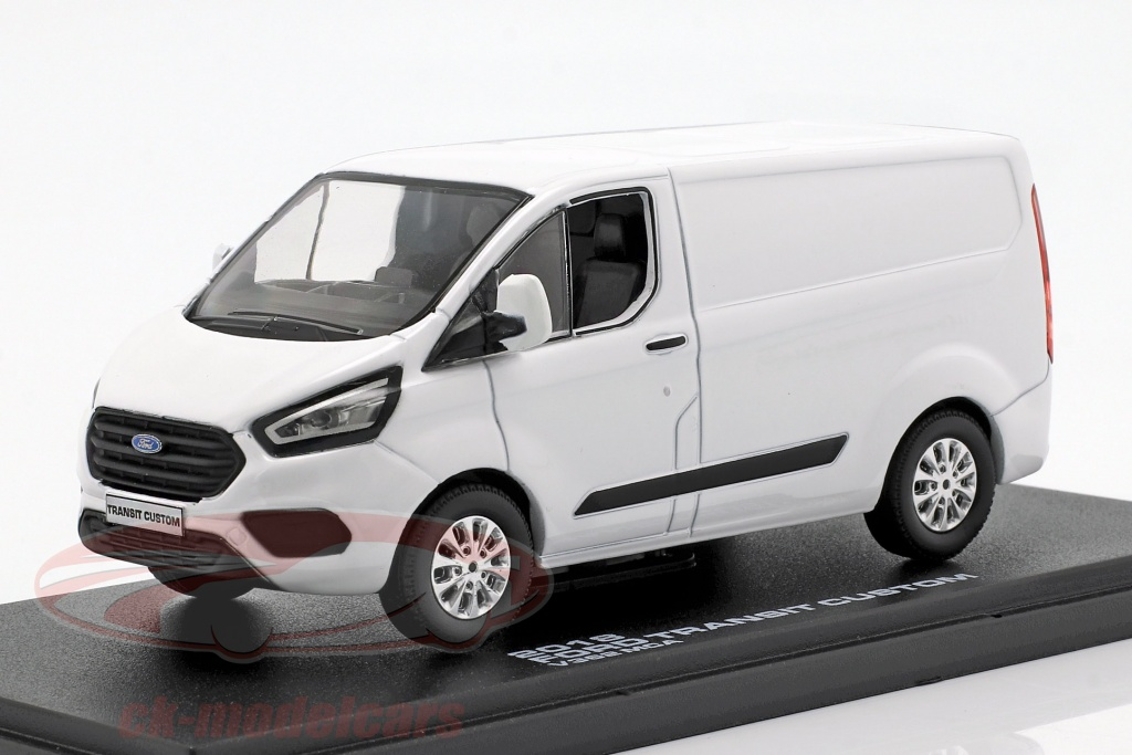 greenlight-1-43-ford-transit-custom-v362-mca-annee-de-construction-2018-blanc-51275/