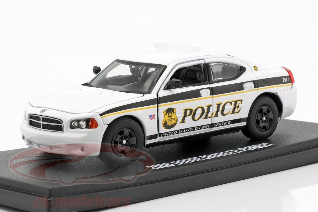 greenlight-1-43-dodge-charger-us-secret-service-police-year-2006-white-black-86171/
