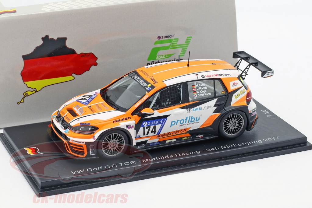 spark-1-43-volkswagen-vw-golf-gti-tcr-no174-24h-nuerburgring-2017-mathilda-racing-sg336/