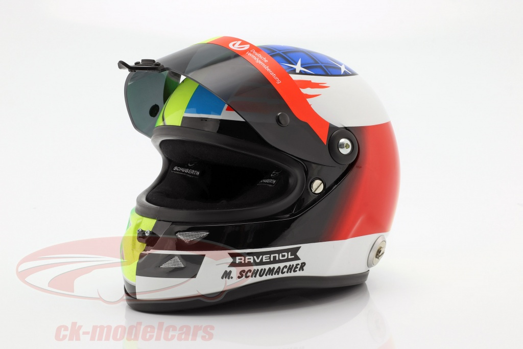 Schuberth 1 2 Mick Schumacher Benetton B194 5 Demo Run Gp Spa F1 2017 Helmet 9087001225 Model Car 9087001225