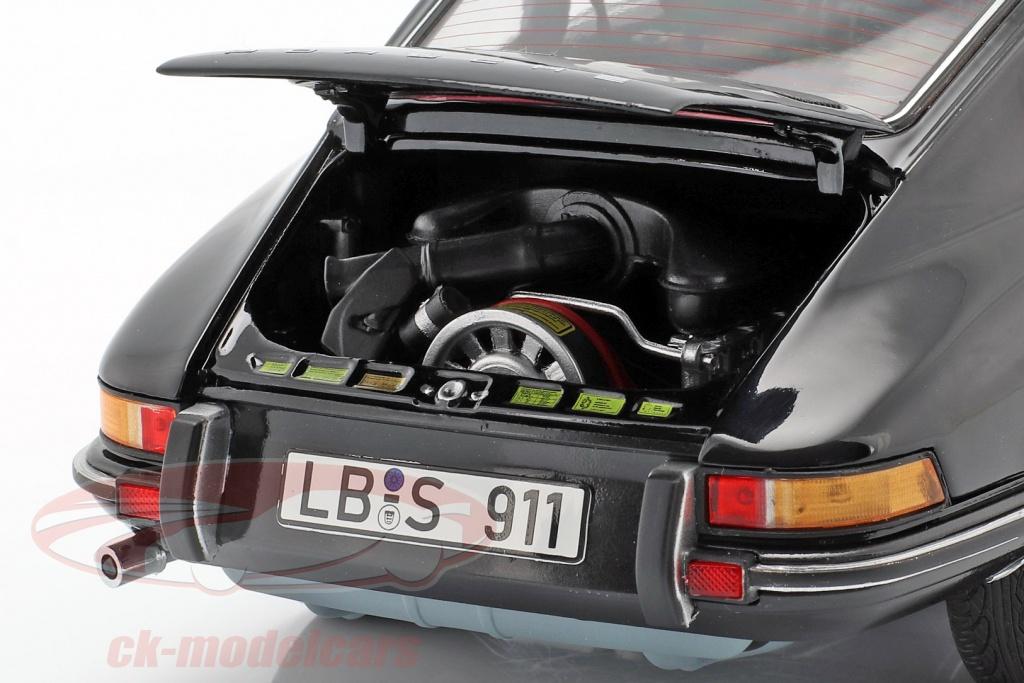 PORSCHE 911 targa anno di costruzione 1973 Orange 1:43 Atlas