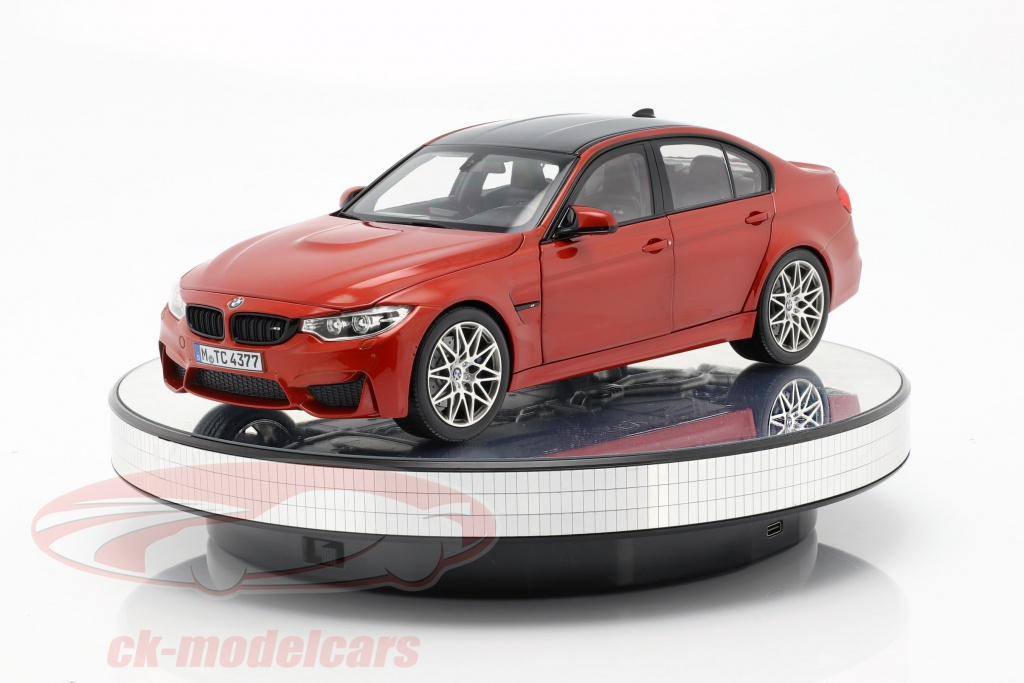 mirrored-turntable-display-diameter-25-cm-for-model-cars-in-1-18-and-1-24-triple9-t9-1811010/