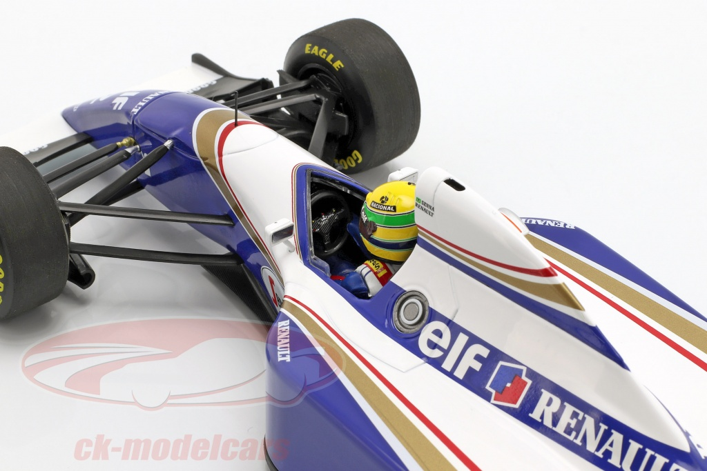 1:18 Minichamps Williams FW16  GP Brazil Pole Position Senna 1994