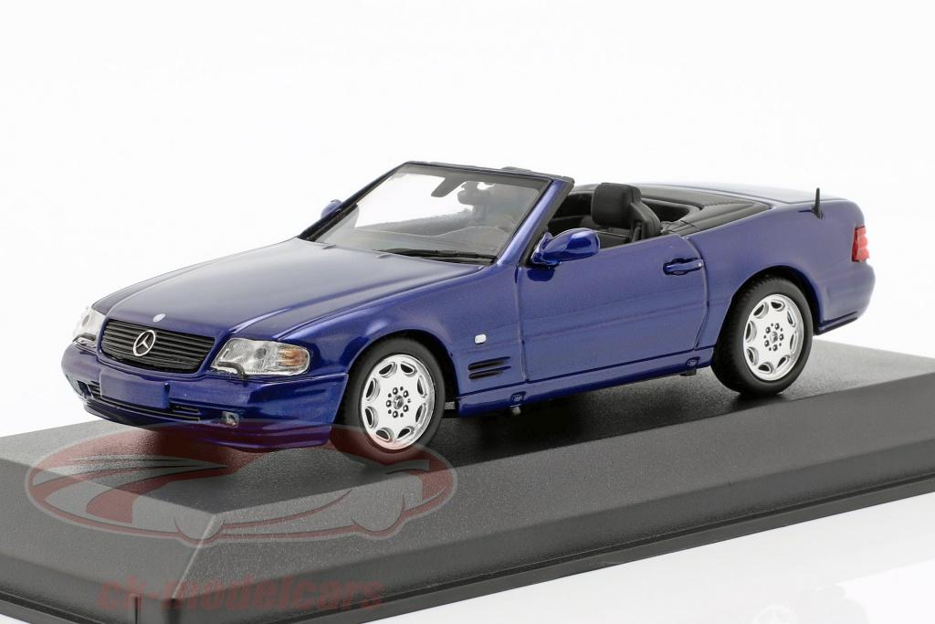 minichamps-1-43-mercedes-benz-sl-bouwjaar-1999-blauw-metalen-940033030/