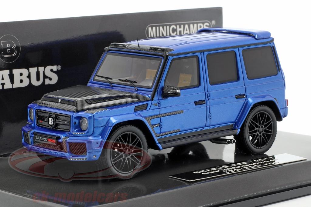minichamps-1-43-brabus-900-basato-su-mercedes-benz-g-65-anno-di-costruzione-2017-blu-scuro-437037404/