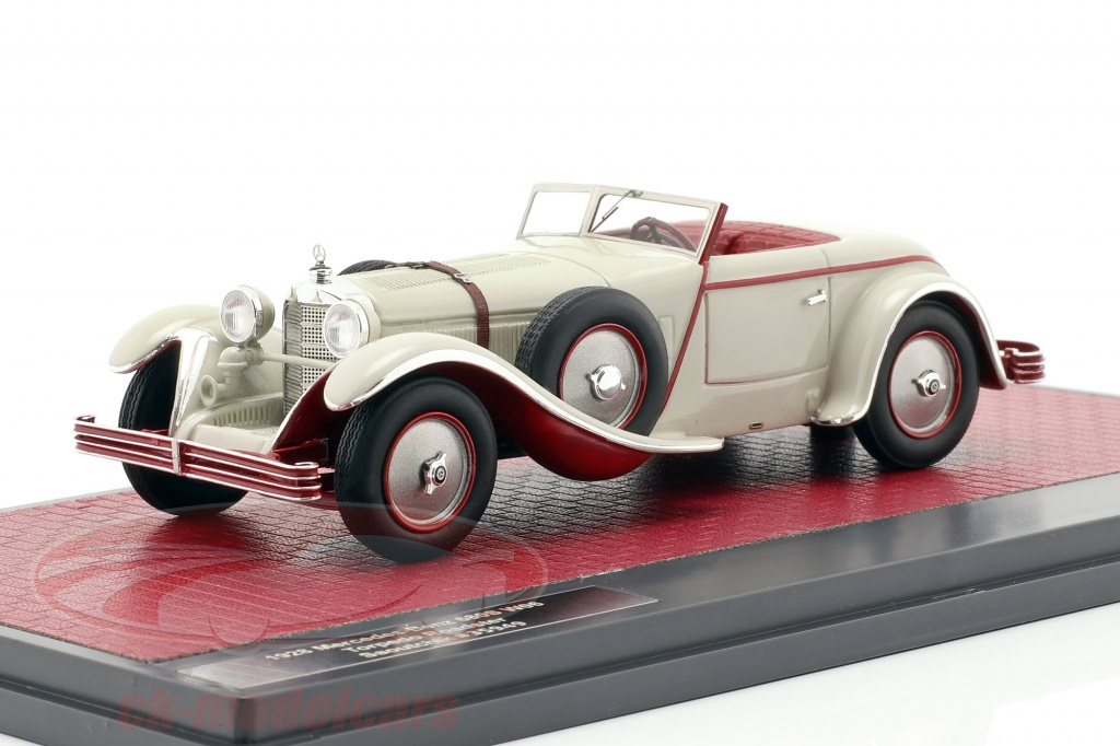 matrix-1-43-mercedes-benz-680s-w06-torpedo-roadster-open-top-1928-lichtgrijs-mx41302-181/