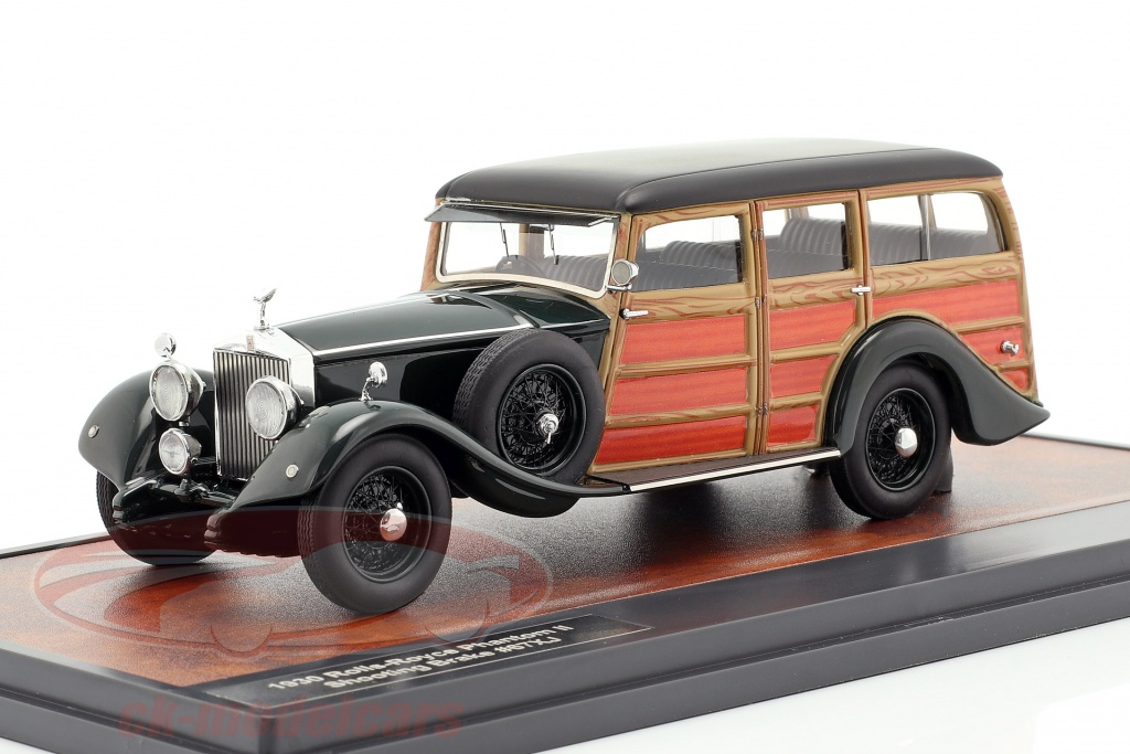 matrix-1-43-rolls-royce-phantom-ii-shooting-brake-1930-verde-oscuro-aspecto-de-madera-mx51705-091/