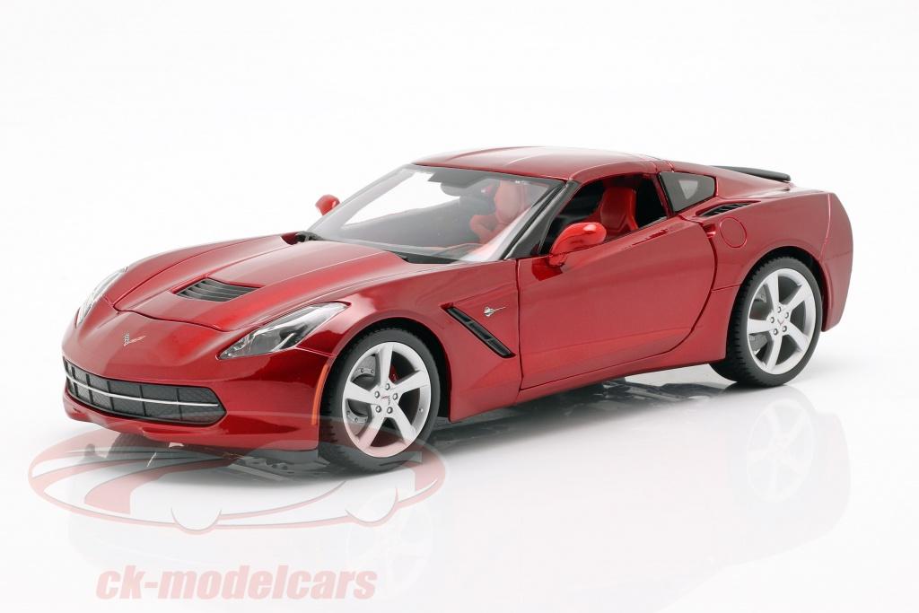 maisto-1-18-chevrolet-corvette-c7-stingray-year-2014-red-31182/