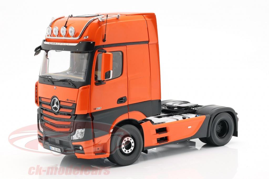 nzg-1-18-mercedes-benz-actros-gigaspace-4x2-lastbil-facelift-2018-appelsin-9921-65-lm99210065/