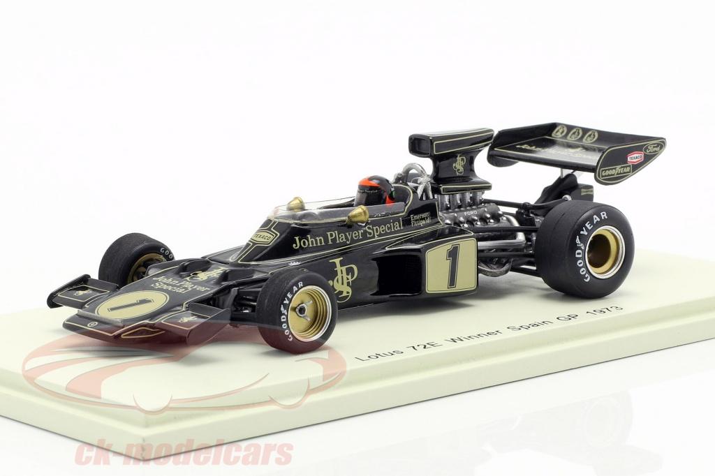 spark-1-43-emerson-fittipaldi-lotus-72e-no1-gagnant-espagnol-gp-formule-1-1973-s7127/