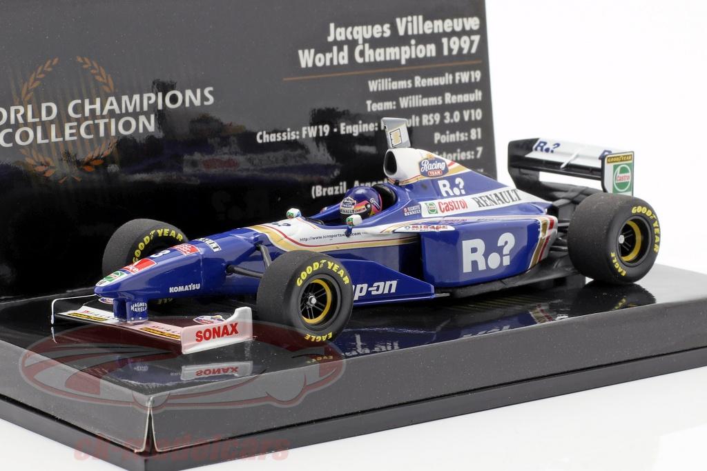 minichamps-1-43-jacques-villeneuve-williams-fw19-no3-campeon-del-mundo-formula-1-1997-436970003/
