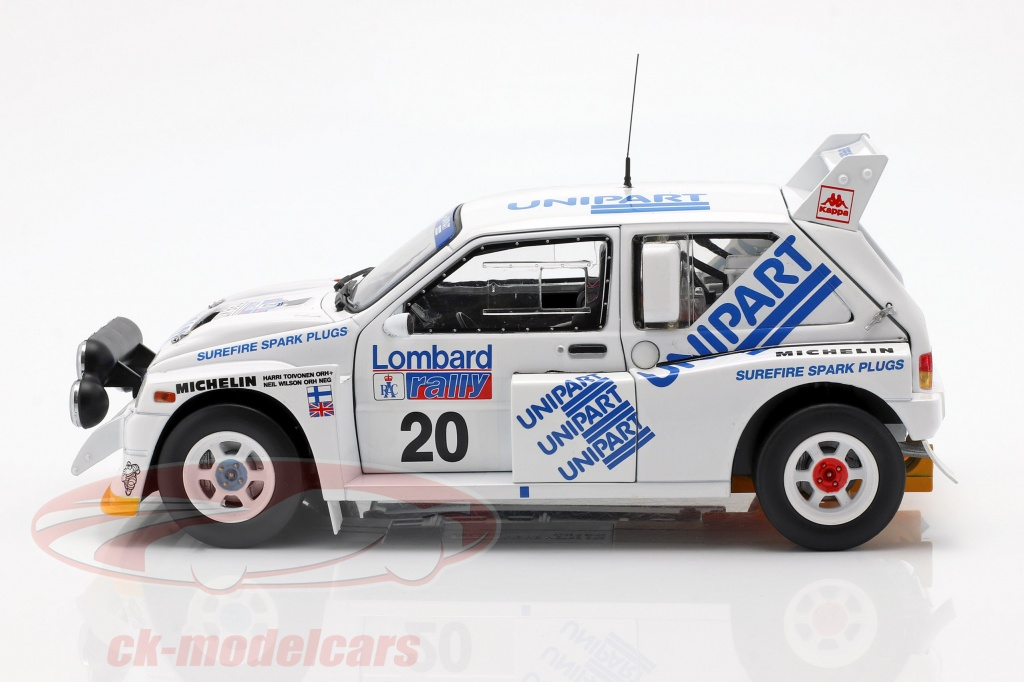 1986 8th DECAL MG METRO 6R4 HARRI TOIVONEN 1000 LAKES R 06
