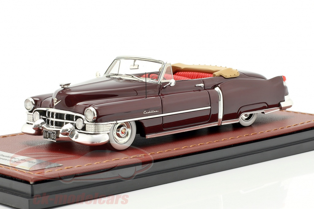 great-lighting-models-1-43-cadillac-series-62-convertible-open-year-1951-dark-brown-glm119103/