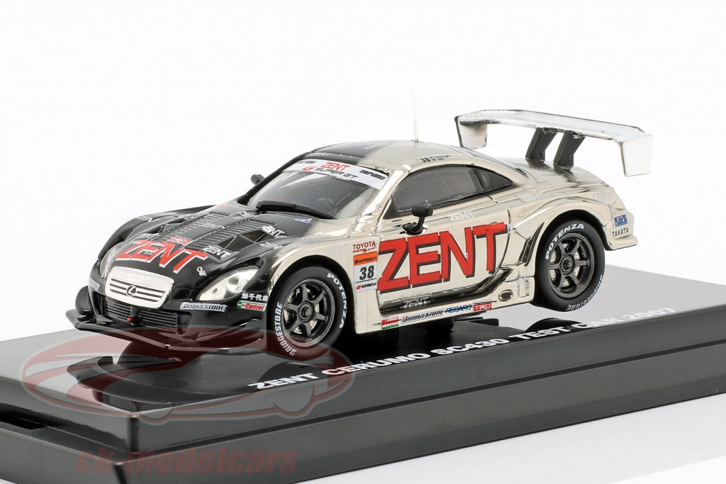 kyosho-1-64-lexus-sc430-no38-test-car-super-gt-series-2007-06561d/