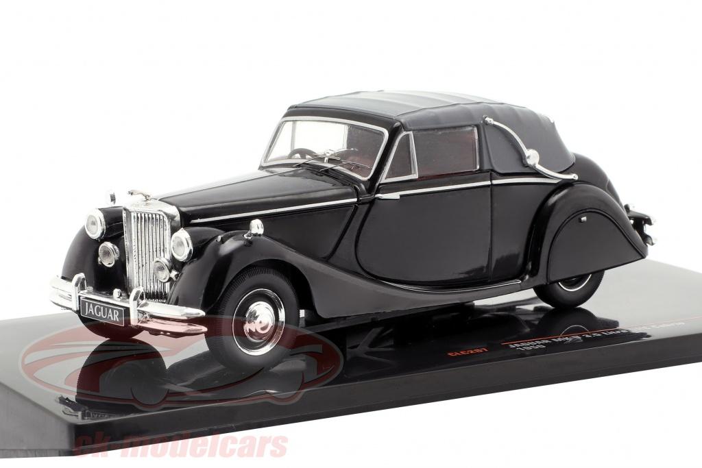 ixo-1-43-jaguar-mk-v-35-ltr-dhc-cabriolet-closed-top-bouwjaar-1950-zwart-clc287n/