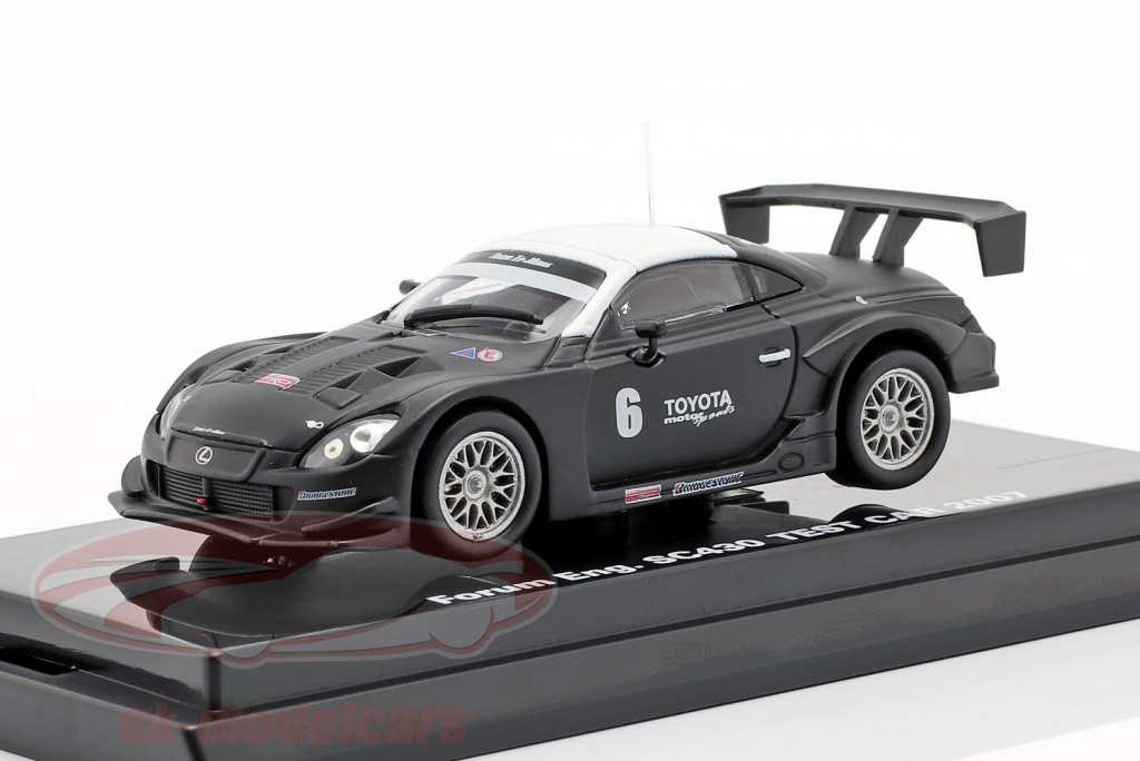kyosho-1-64-lexus-sc430-no6-test-car-super-gt-series-2007-06561c/