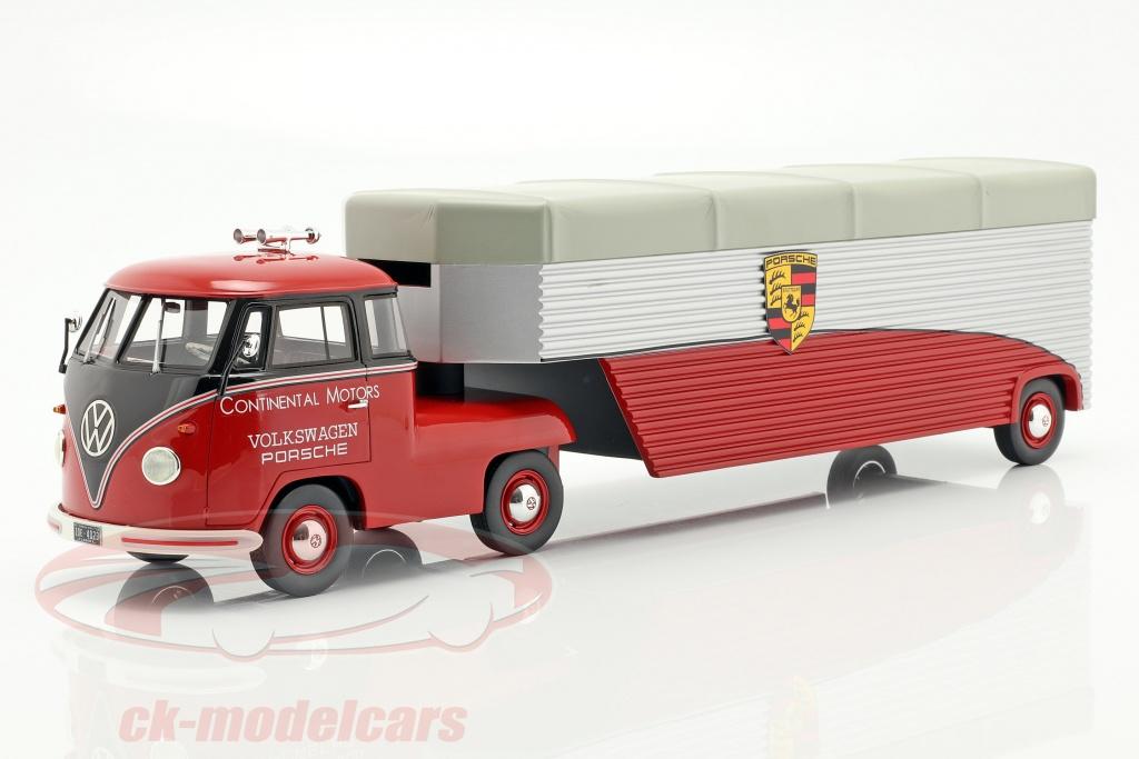 schuco-1-18-volkswagen-vw-t1b-porsche-race-vrachtwagen-continental-motors-rood-450905900/