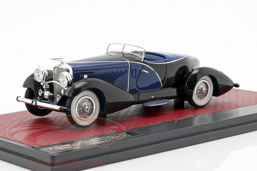 matrix-1-43-duesenberg-j-swb-french-true-speedster-by-figoni-1931-schwarz-blau-mx50406-032/