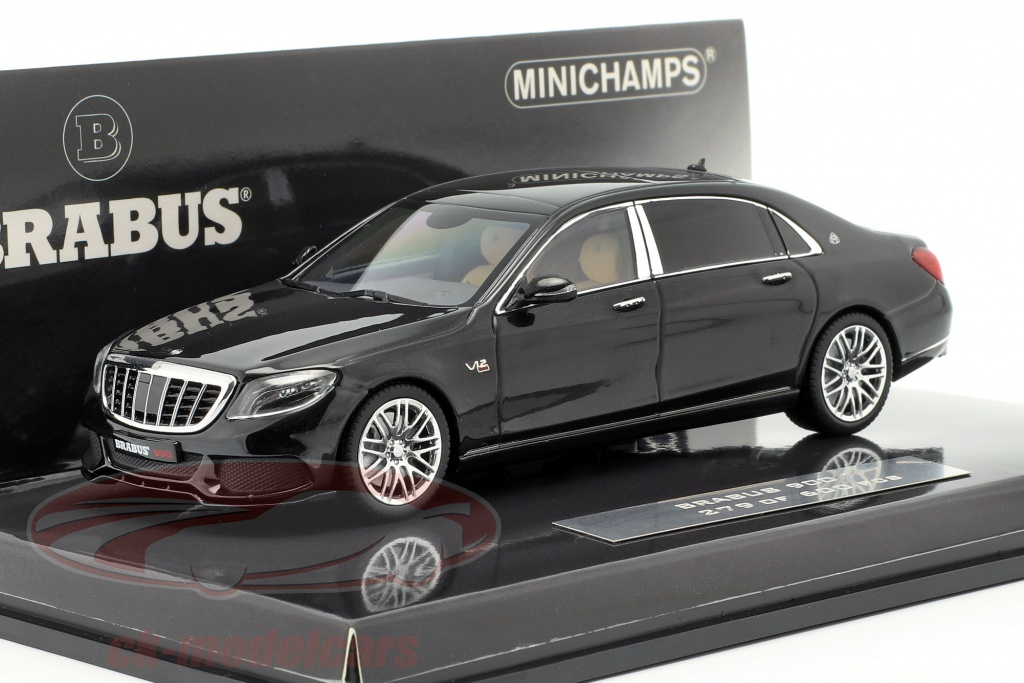 minichamps-1-43-maybach-brabus-900-baserede-p-mercedes-benz-maybach-s600-2016-sort-437035420/