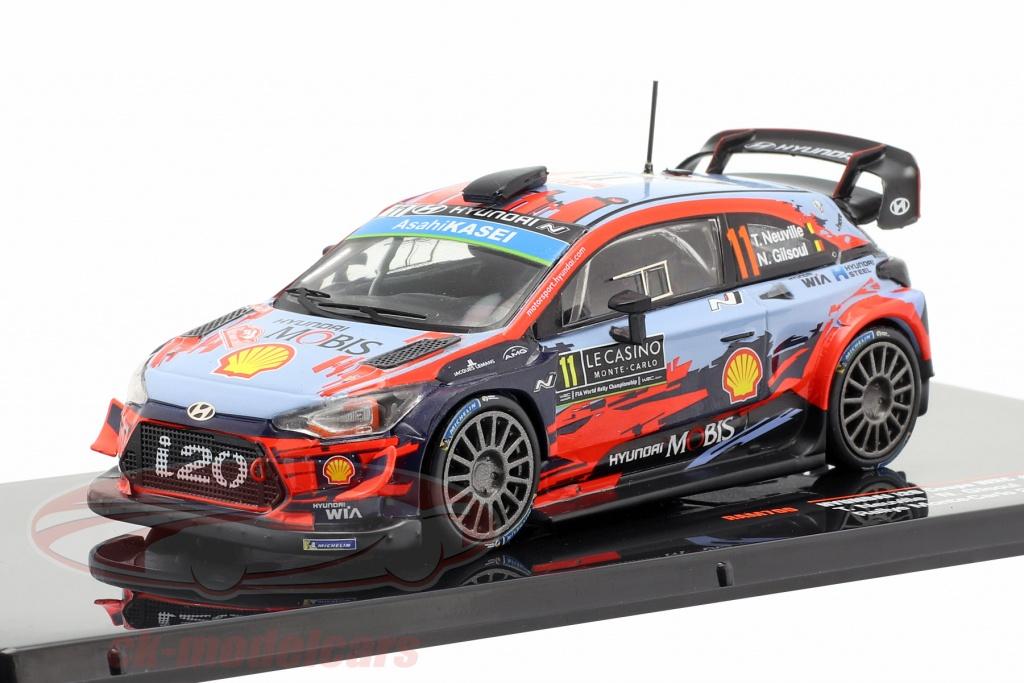 ixo-1-43-hyundai-i20-wrc-no11-segundo-rallye-monte-carlo-2019-neuville-gilsoul-ram700/