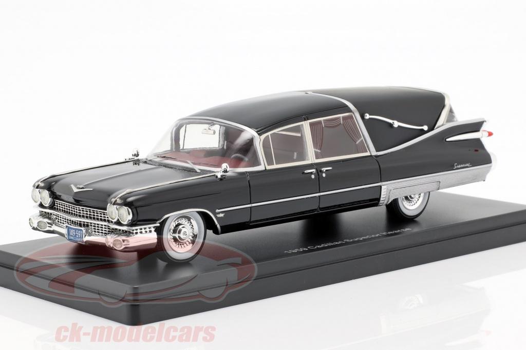 neo-1-43-cadillac-superior-crown-royale-landau-hearse-1959-black-neo49597/
