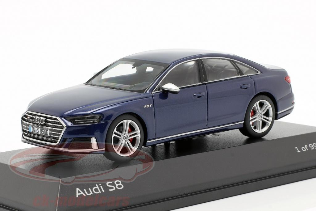 jadatoys-1-43-audi-s8-d5-limousine-baujahr-2019-navarra-blau-metallic-5011818131/