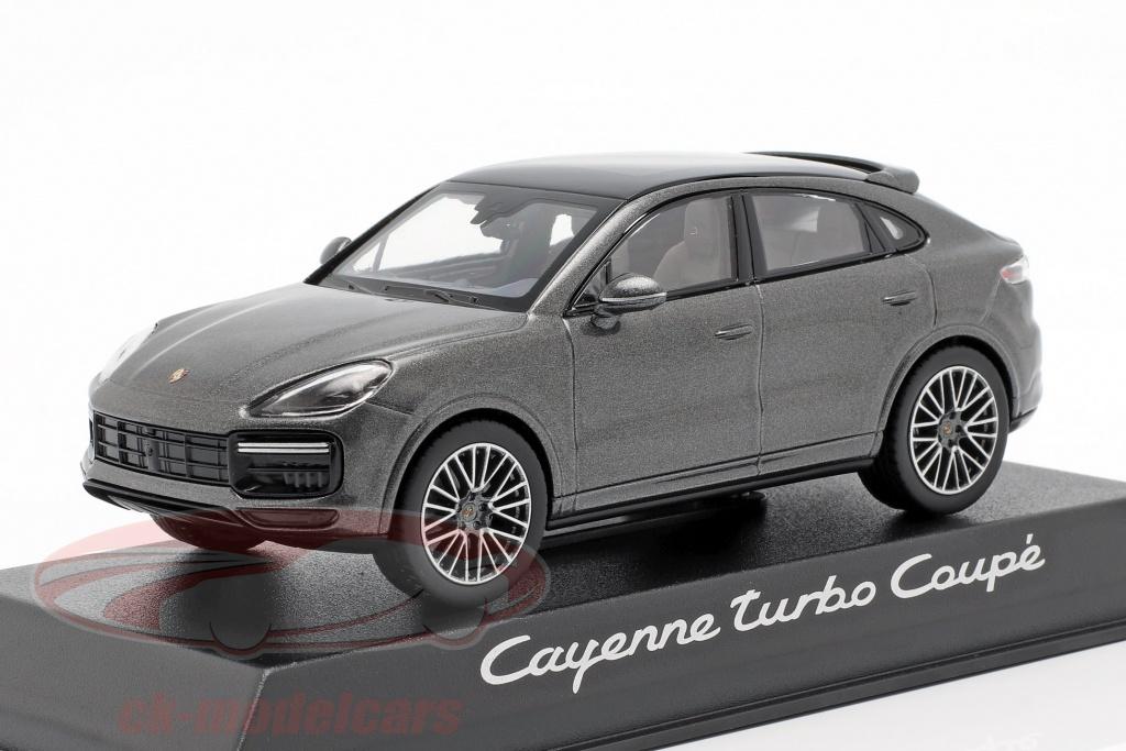 norev-1-43-porsche-cayenne-turbo-coupe-ano-de-construccion-2019-gris-oscuro-metalico-wap0203160k/