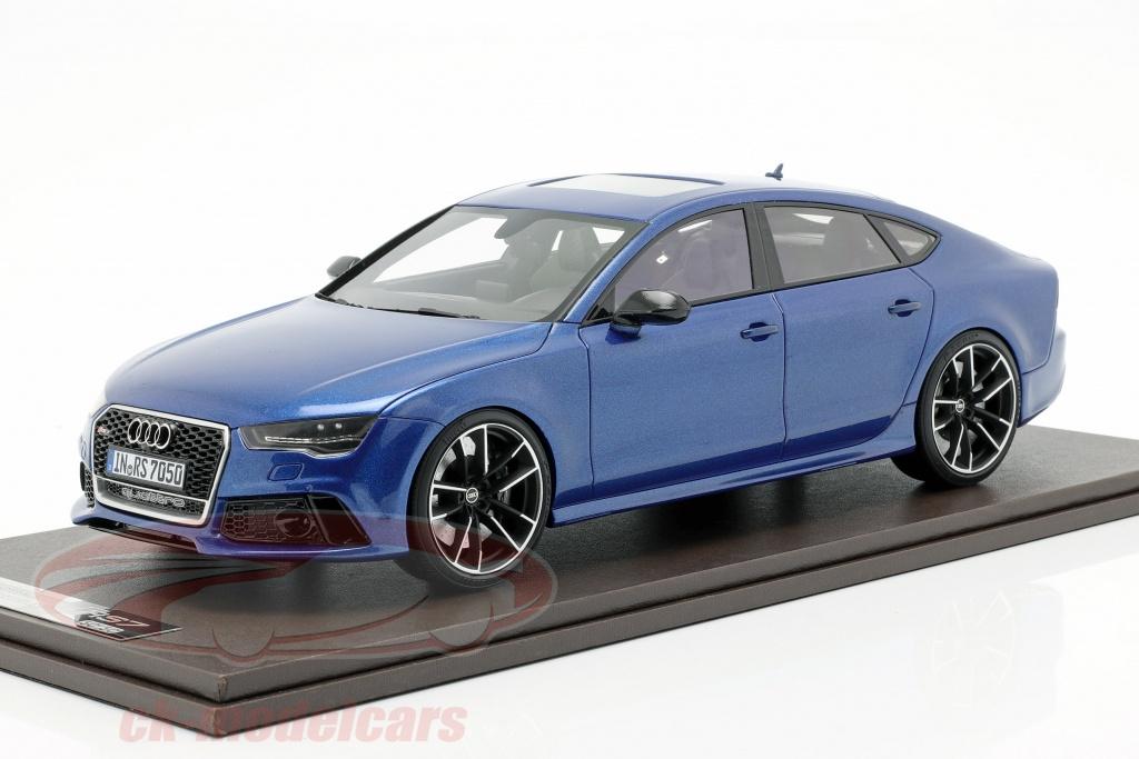 motorhelix-1-18-audi-rs7-sportback-performance-annee-de-construction-2016-sepang-bleu-mh003spb/