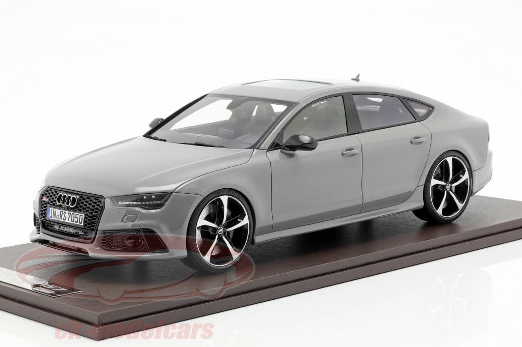 motorhelix-1-18-audi-rs7-sportback-performance-year-2016-nardo-grey-mh003cmg/