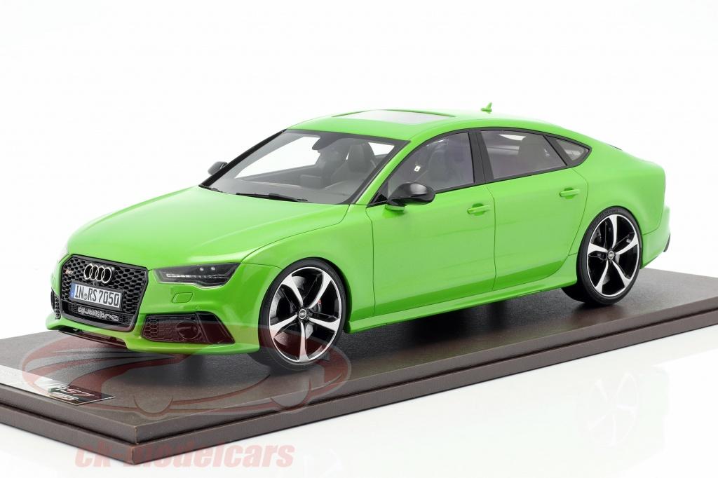 motorhelix-1-18-audi-rs7-sportback-performance-year-2016-apple-green-mh003agm/