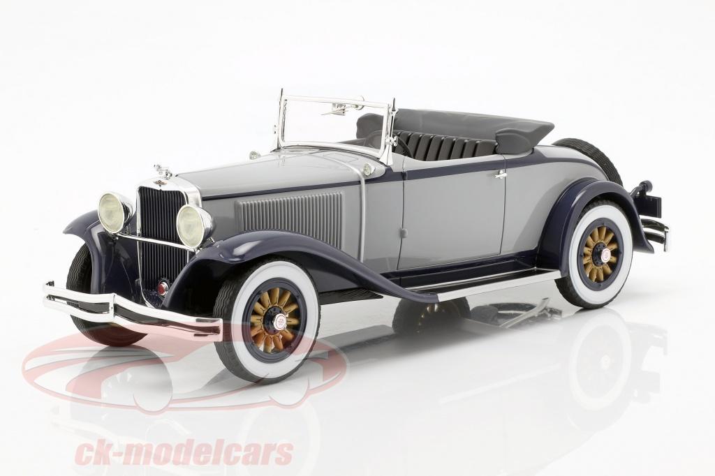 bos-models-1-18-dodge-eight-dg-roadster-converteerbaar-bouwjaar-1931-grijs-dark-blue-bos375/