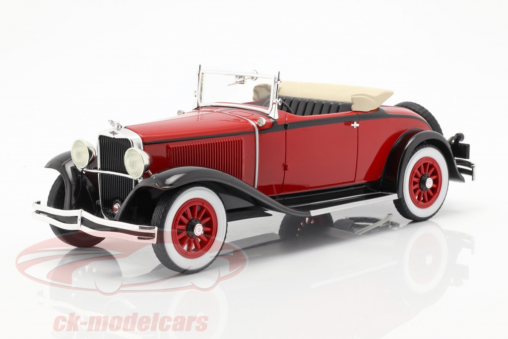 bos-models-1-18-dodge-eight-dg-convertible-year-1931-red-black-bos293/