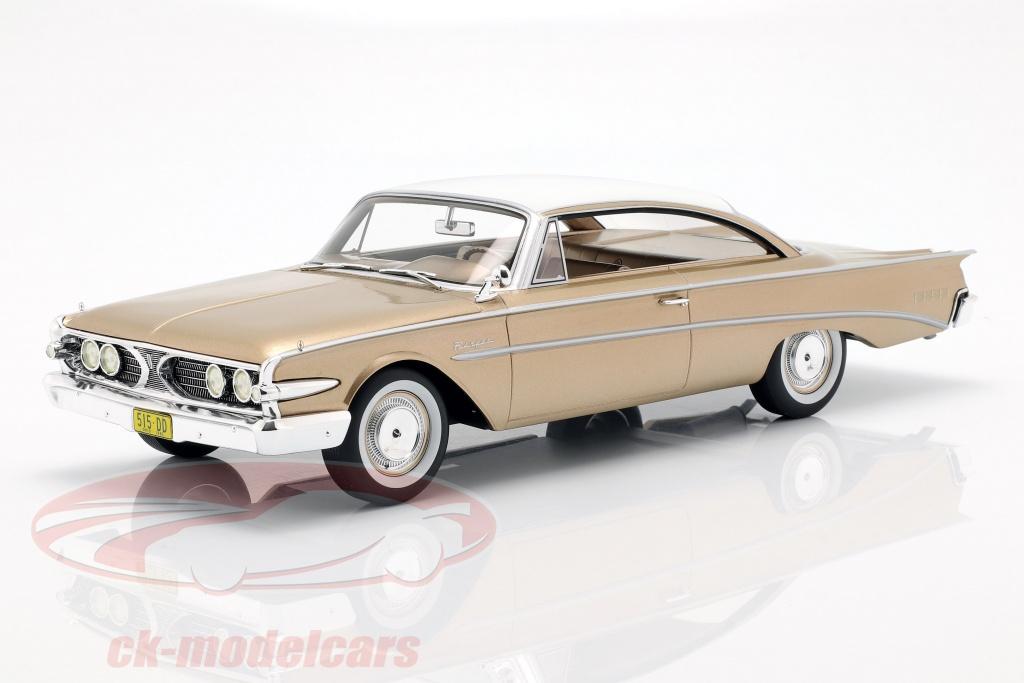 bos-models-1-18-edsel-ranger-hardtop-opfrselsr-1960-guld-hvid-bos386/