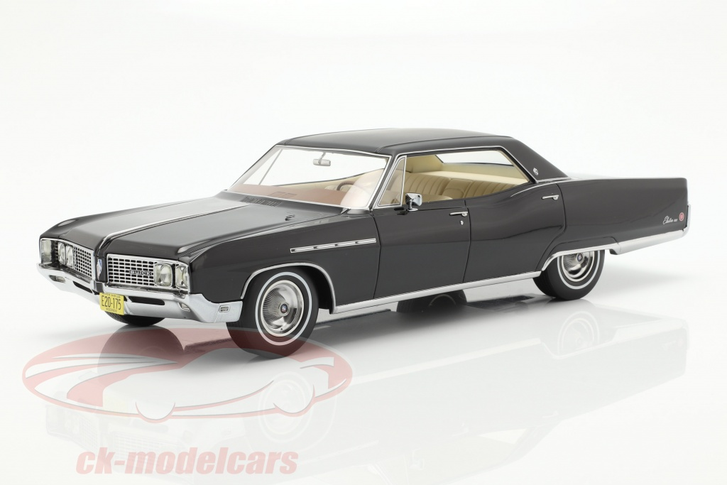 bos-models-1-18-buick-electra-224-4-door-coupe-annee-de-construction-1968-noir-bos175/