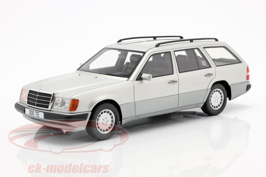 bos-models-1-18-mercedes-benz-300-te-s124-bouwjaar-1990-zilver-bos344/
