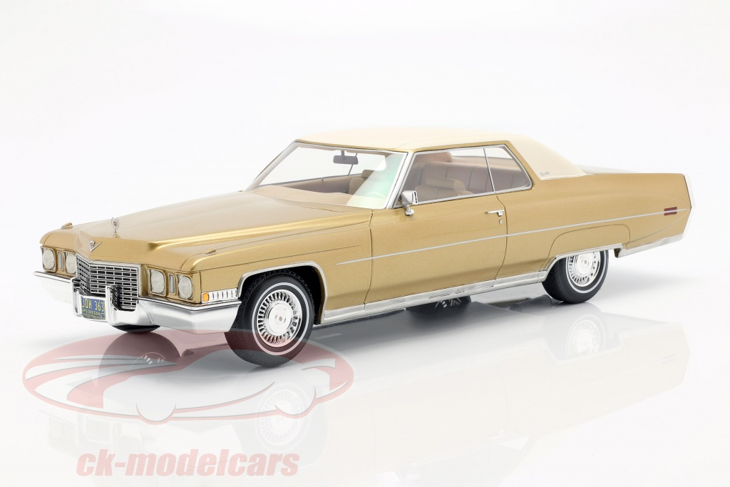 bos-models-1-18-cadillac-coupe-deville-opfrselsr-1972-guld-metallic-hvid-bos363/
