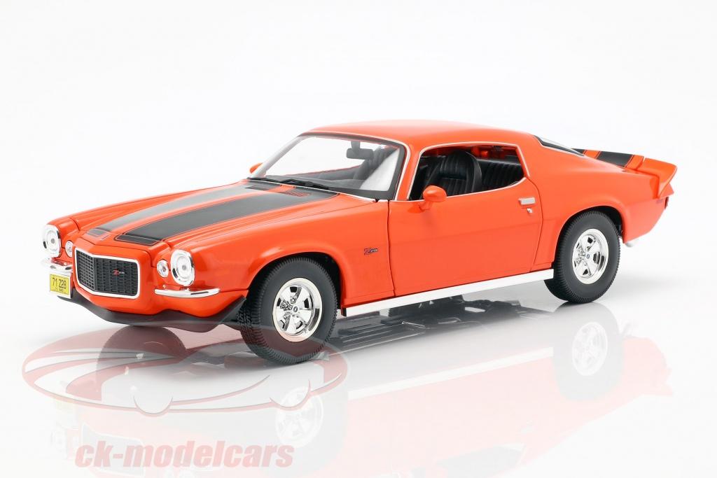 maisto-1-18-chevrolet-camaro-baujahr-1971-orange-schwarz-31131o/