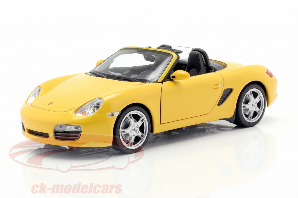 welly-1-24-porsche-boxster-s-987-cabriolet-annee-de-construction-2012-jaune-22479cy/
