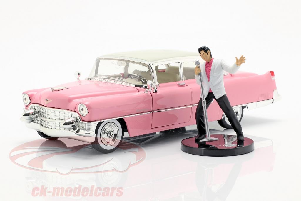 jadatoys-1-24-cadillac-fleetwood-opfrselsr-1955-med-elvis-figur-pink-hvid-253255012/