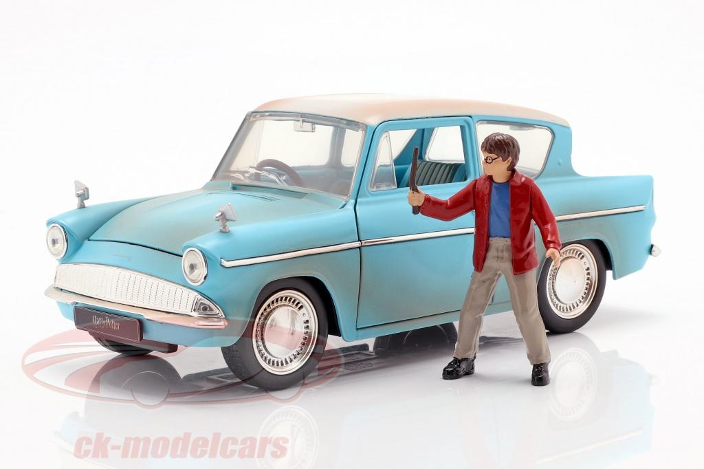 jadatoys-1-24-ford-anglia-annee-de-construction-1959-avec-harry-potter-figure-bleu-clair-253185002/