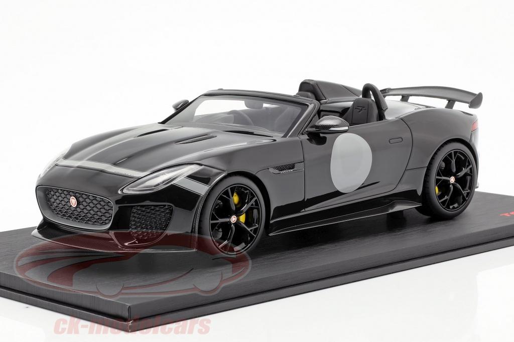 true-scale-1-18-jaguar-f-type-project-7-annee-de-construction-2015-noir-ts0168/