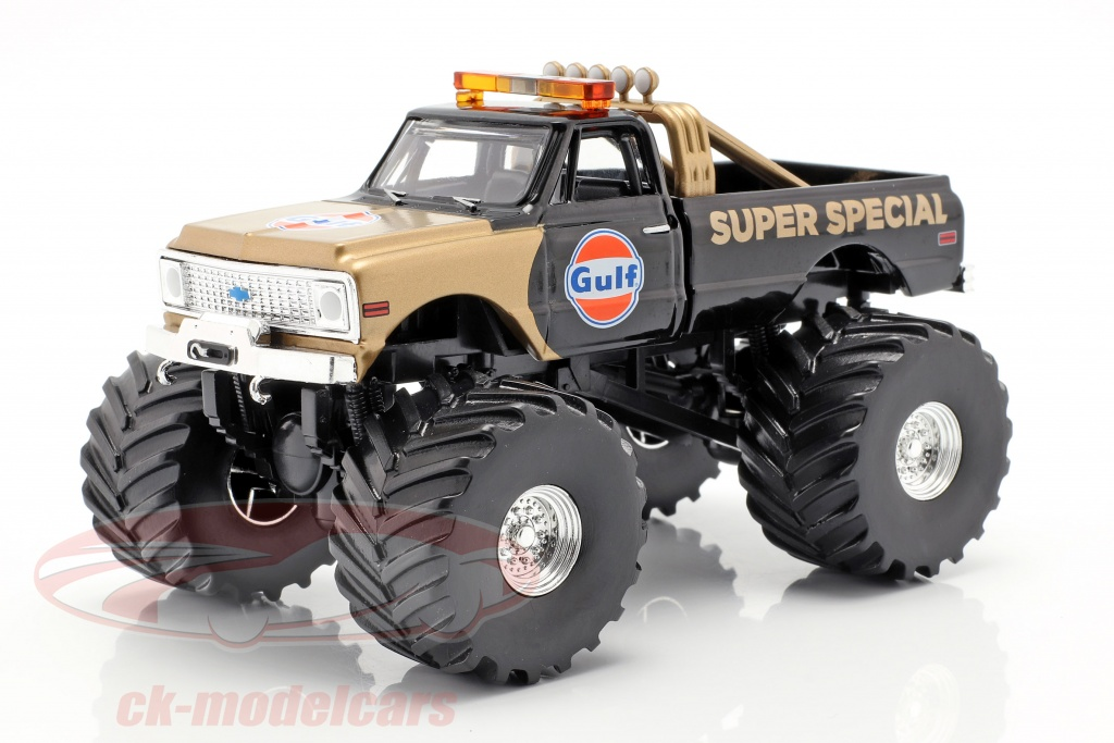 greenlight-1-43-chevrolet-k-10-gulf-super-special-monster-truck-1971-noir-or-88013/